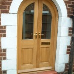Semi Circular Arched Door