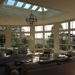 Gary Bibby Joinery, Stokesley, North Yorkshire, Roof lantern and door framedeisgn